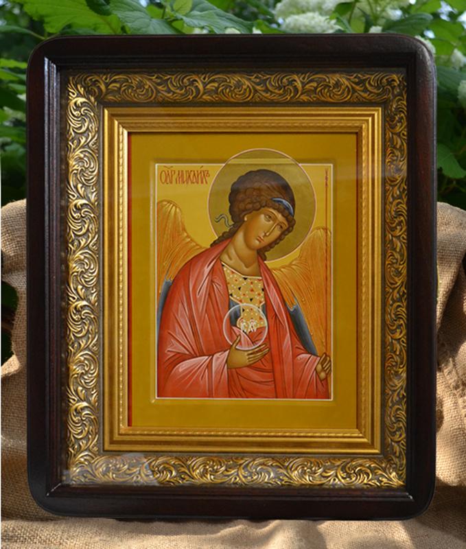 Иконописная мастерская в Москве. Икона в киоте