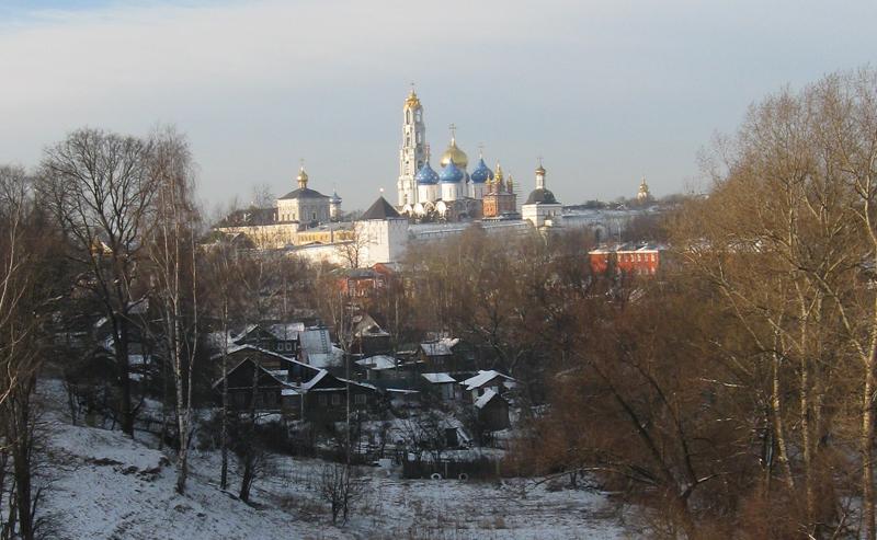 Свято-Троицкая Сергиева Лавра. Панорама