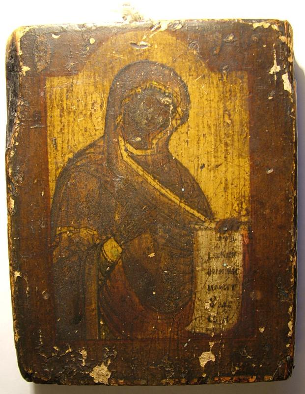 DSCF2218 - Икона Богородицы (Реставрация)