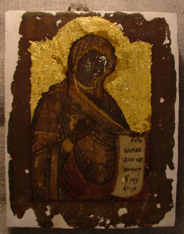 DSCF2401 - Икона Богородицы (Реставрация)