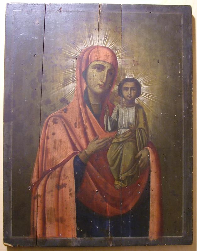 DSCF2877 - Смоленский образ Богородицы (Реставрация)