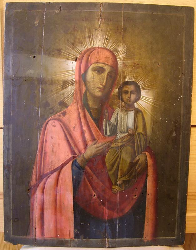 DSCF2950 - Смоленский образ Богородицы (Реставрация)