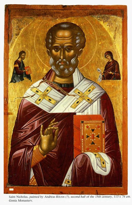 Византия - Николай Угодник