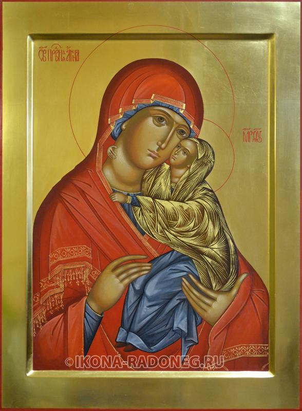 икона Анна с младенцем Марией
