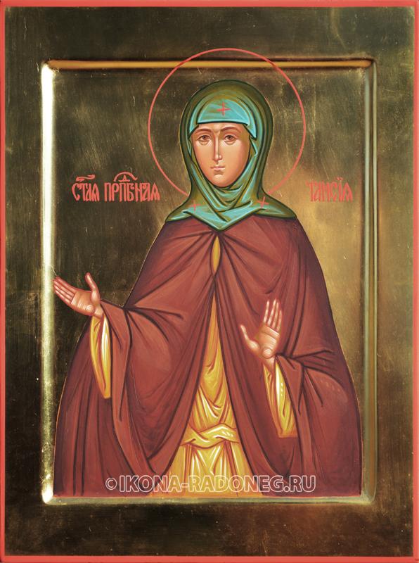 Икона Таисии Египетской