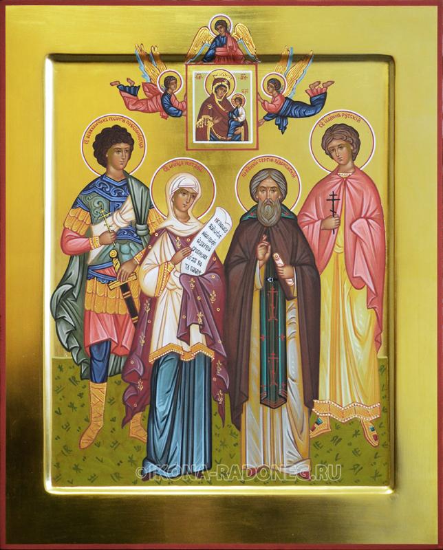 Семейная икона (4 фигуры)4