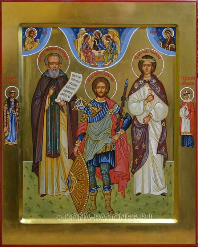 Семейная икона (3 фигуры) 3