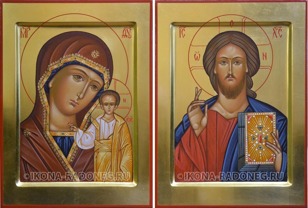 Икона Венчальная пара (обр.6)