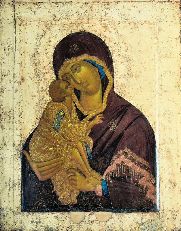 Донская икона Божией Матери. Феофан Грек