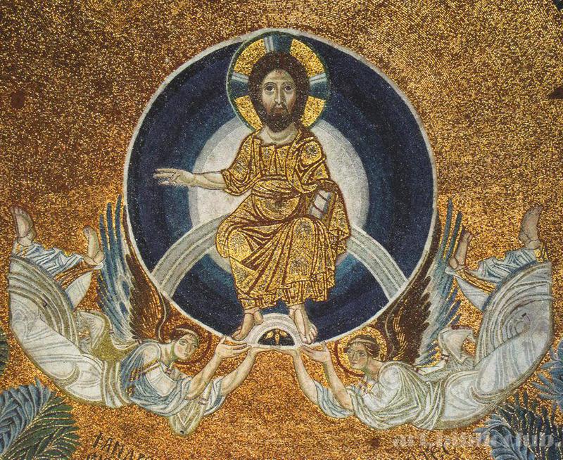 Вознесение. церковь святой Софии. Солоники. 9 век.