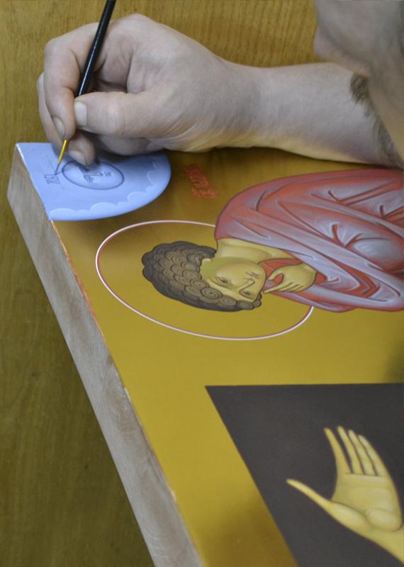 иконописная мастерская. Голгофа икона