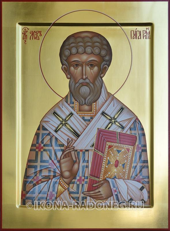 икона Лев папа Римский