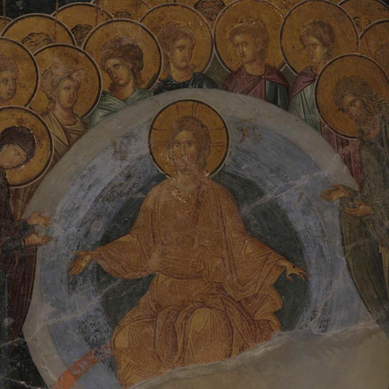 Христос Пантократор. Константинополь.