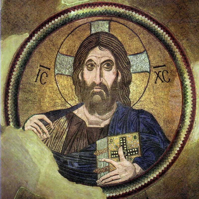 Христос Пантократор. Монастырь в Дафнии