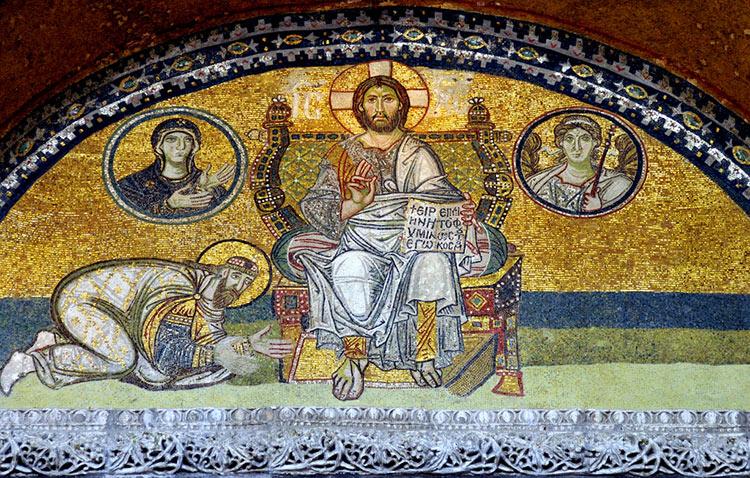 Христос Пантократор на престоле