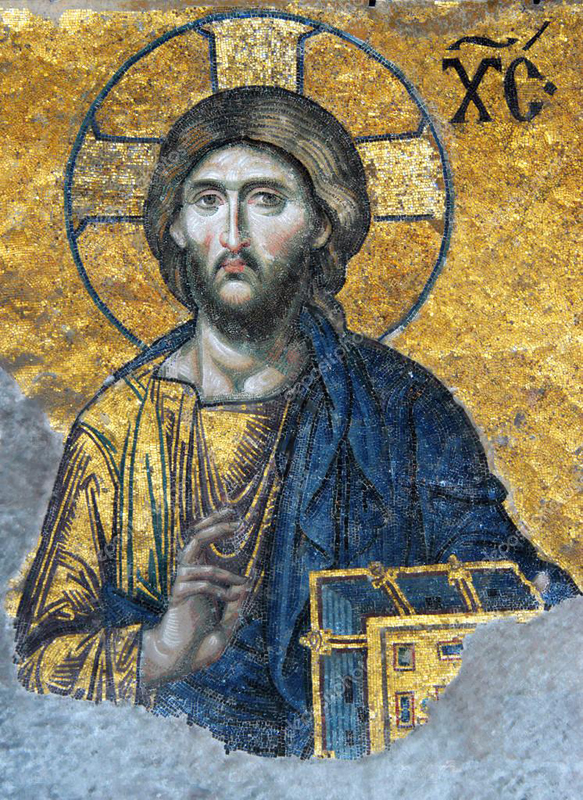Спас Пантократор.собор святой Софии. Константинополь. 12-век