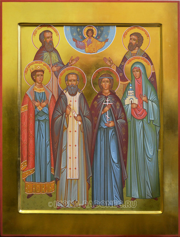 Семейная икона (6 фигур)2