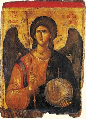 Икона Архангела Михаила. Византия