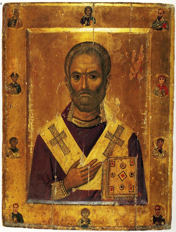 Икона Николая Чудотворца. Византия