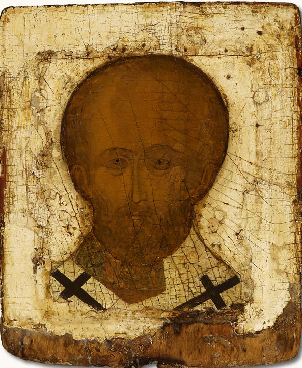 Икона Николая Чудотворца. Русь