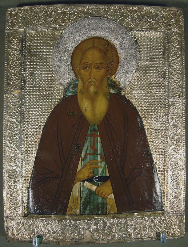 Икона Сергия Радонежского. Свято-Троицкая Сергиева Лавра
