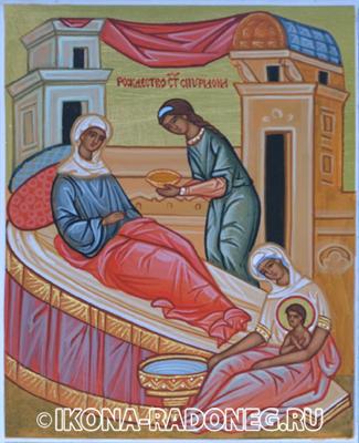Икона Спиридона Тримифунтского. Рождество святителя Спиридона