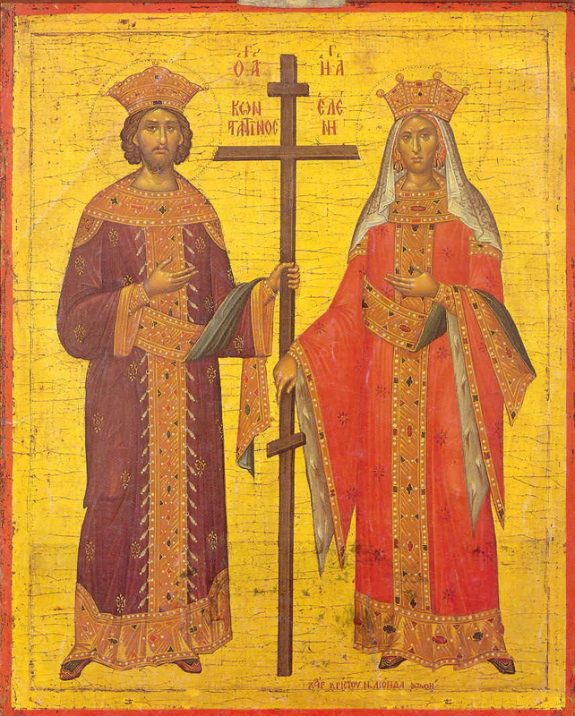 Икона Елены и Константина (Византия)