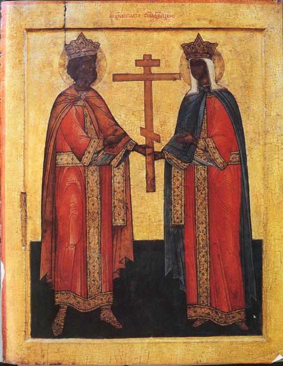 Икона Елены и Константина (Русь)