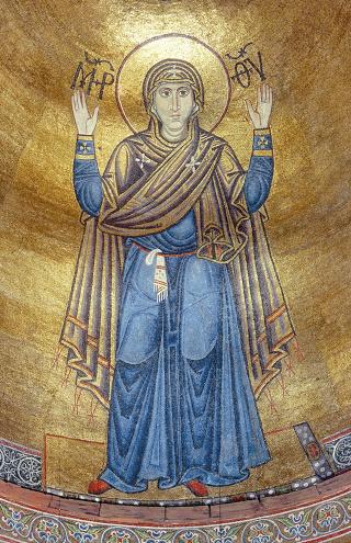 Икона Божией Матери Нерушимая Стена. Софийский Собор. Киев