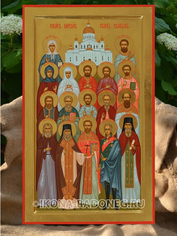 Икона Собор Мордовских святых