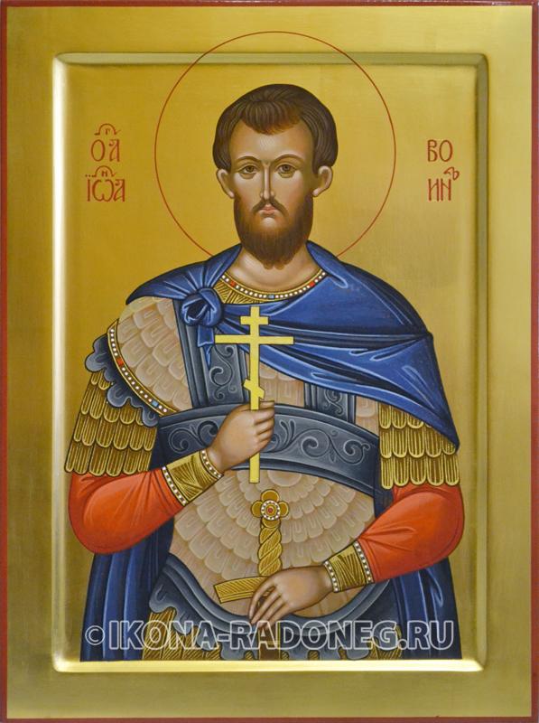 Икона - святой Иоанн Воин