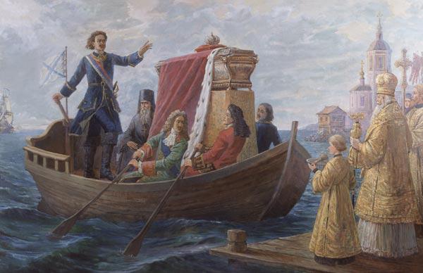 Перенесение мощей святого благоверного князя Александра Невского