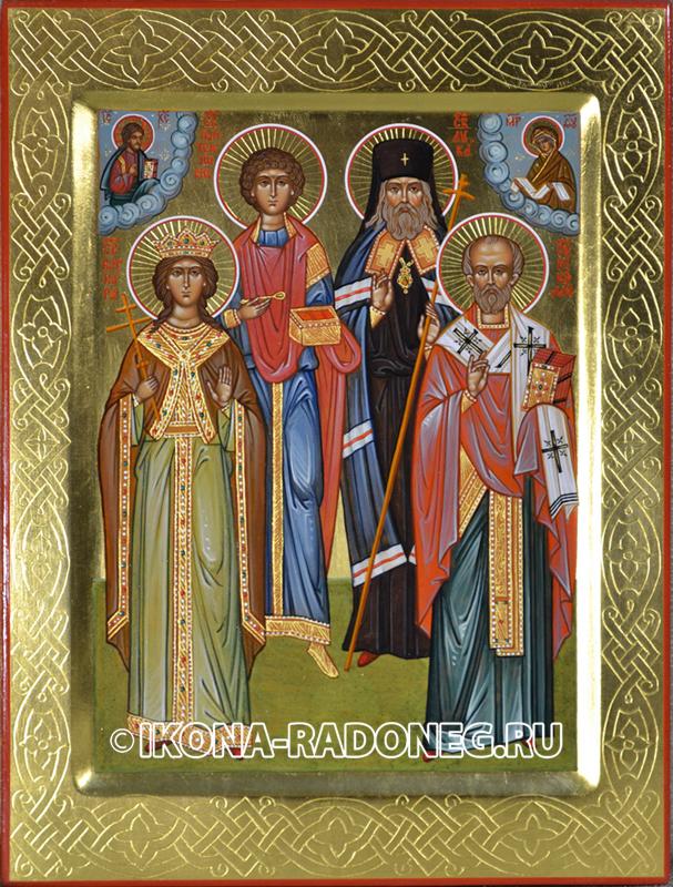 Семейная икона (4 фигуры)6