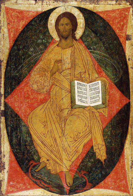 Икона Спас в Силах. Дионисий