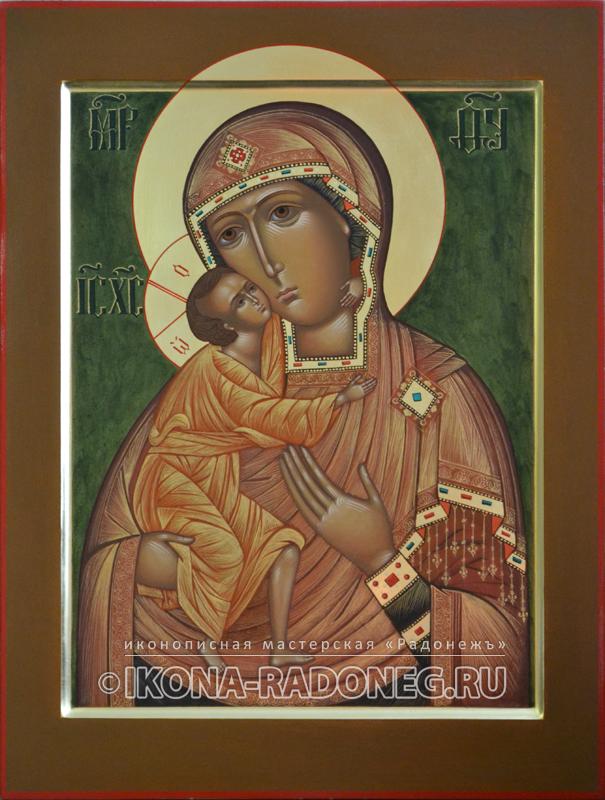 Икона Феодоровская икона Божией Матери