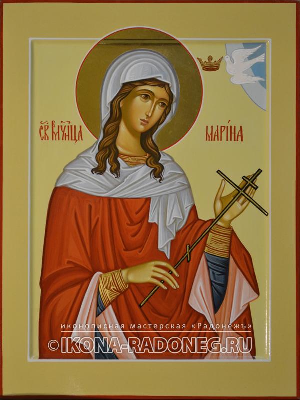 Икона Марины Антиохийской