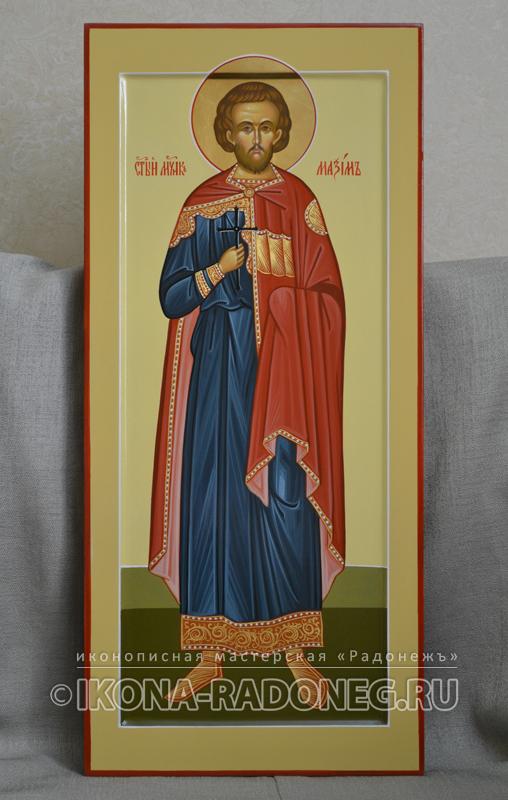Икона Максима Адрианопольского