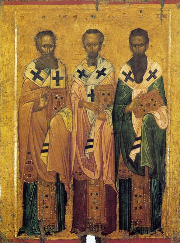 Икона - Собор Трёх Святителей (Византия)
