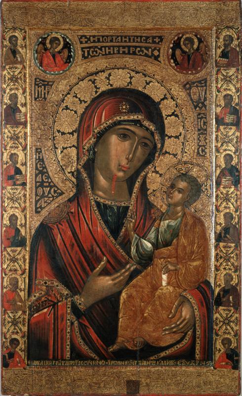 Иверская икона Божией Матери (Новодевичий монастырь)
