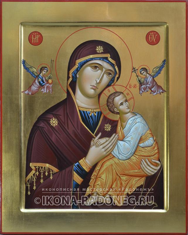 Икона Божией Матери - Страстная