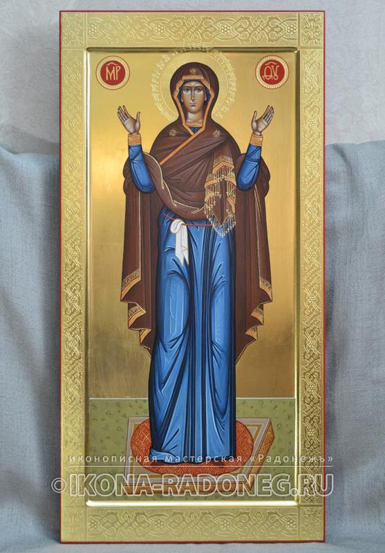 Икона Божией Матери Нерушимая Стена