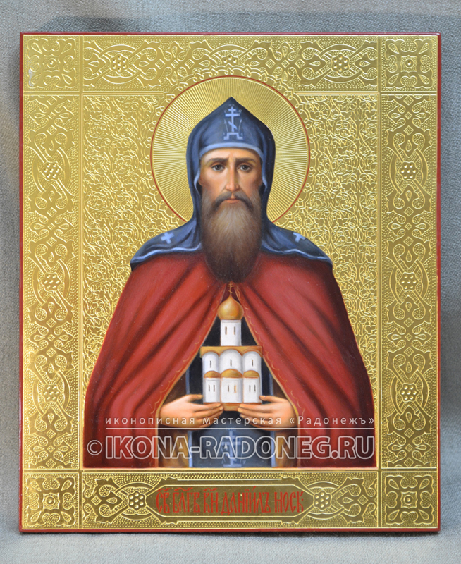 Икона Даниила Московского