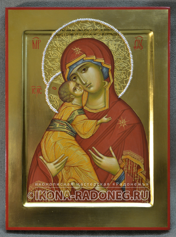Владимирская икона Божией Матери (обр.2)