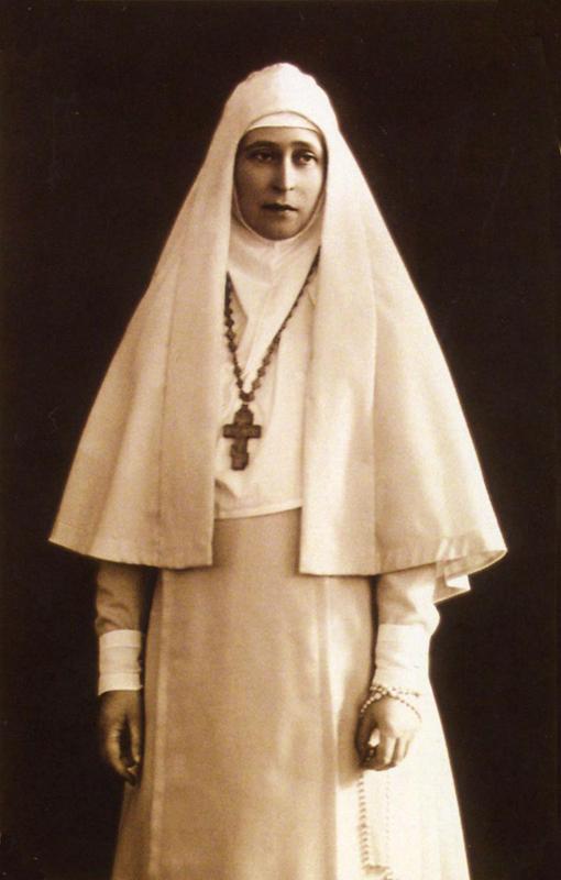 Прижизненная фотография святой Елисаветы.