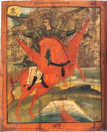 икона Архангела Михаила(Русь)
