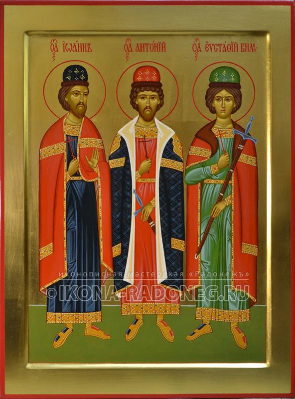Икона святых мучеников Виленских