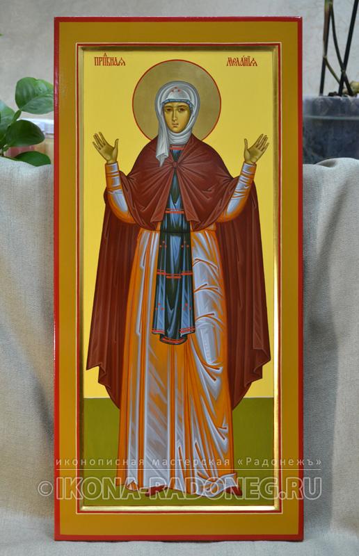 Икона преподобной Мелании Римляныни