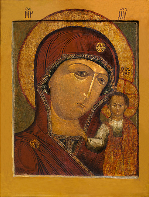 Пензенская-Казанская икона Божией Матери