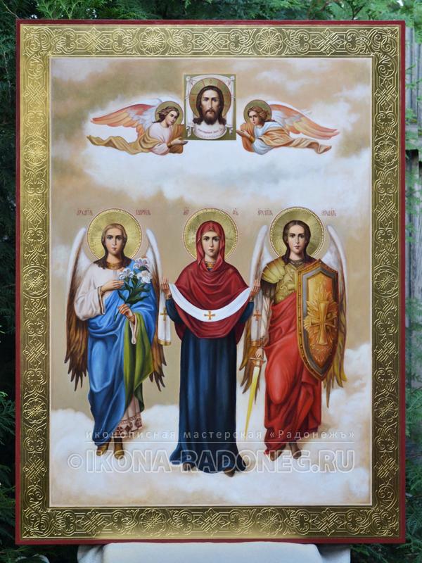 Покров Пресвятой Богородицы (живописная)