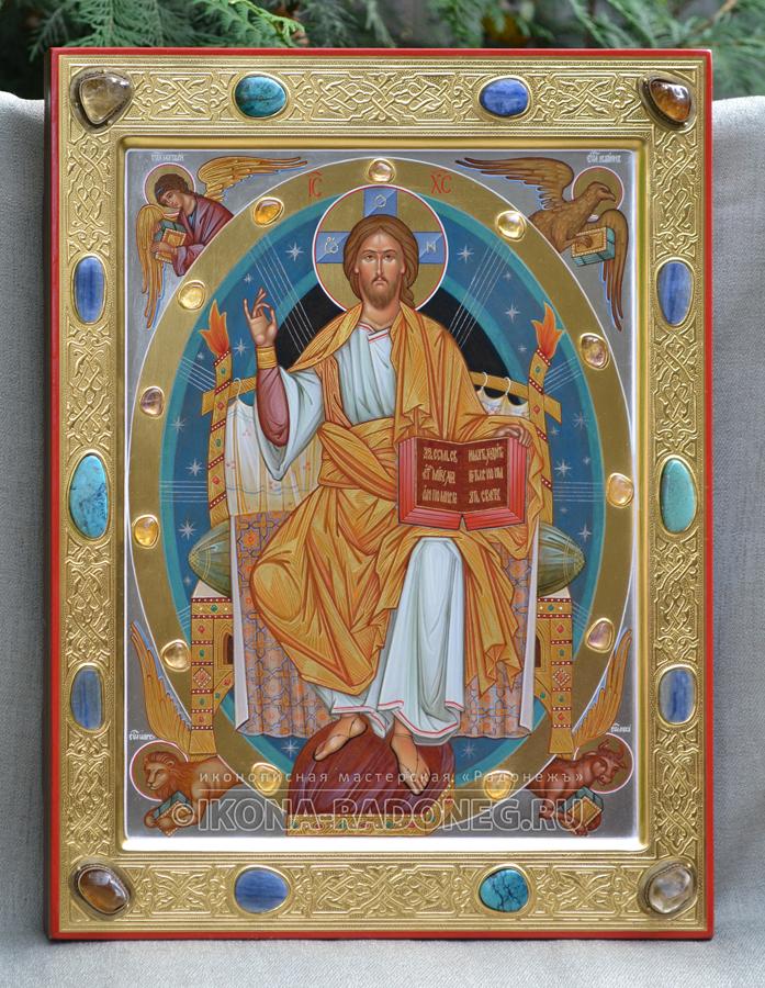 Икона Спас во славе